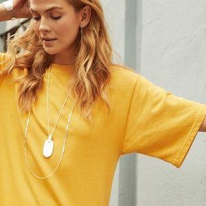 Kendra Scott Necklace Rose Gold - Summer '19